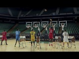 Рождественский звон через баскетбольное кольцо / Jingle Hoops - Basketball Jingle bells